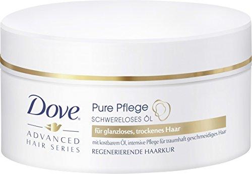 Dove Máscara para después del champú (aceite sublime para cuidado del cabello, 200ml)