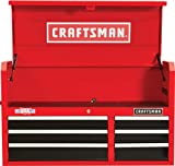 2000 SERIES 41-IN. WIDE 6 DRAWER TOOL CHEST - RED/BLACK