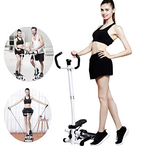 Health & Fitness Twist Stepper Step Machine w/Handle Bar and LCD Monitor