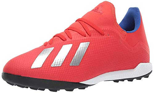 adidas Men's X 18.3 Turf, Active red/Silver...