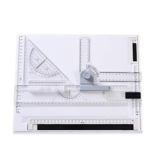 Schnell Zeichenplatte A4 Zeichenbrett Zeichenschiene Reißbrett Profi Rapid Zeichentisch 38 X 30 CM