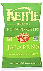 Kettle Foods Chip Potato Nat Jalapeno, 5 oz