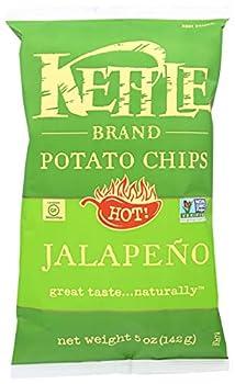 Kettle Foods Chip Potato Nat Jalapeno 5 oz