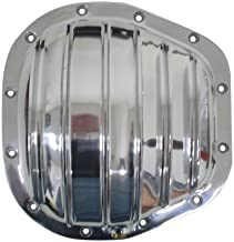 1986-UP Compatible with/Replacement for Ford Sterling (F-250-F-350-Excursion) Polished Aluminum Rear Differential Cover - 12 Bolt w/ 10.5
