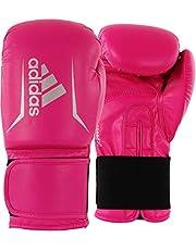 adidas Adultos Speed 50adisbg50, Guantes de Boxeo, 10oz, Color Rosa y Plateado