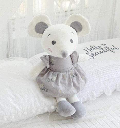 NC56 Amantes del ratón de Peluche de Juguete Super Lindo Juguete de Peluche de Dibujos Animados Pareja de ratón muñeca de Peluche cumpleaños 50cm Recuerdo de Navidad