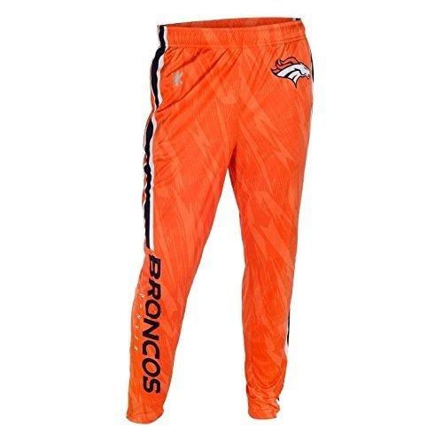 NFL Football 2015 Mens Tapered Zip Up Pants - Pick Team (Denver Broncos , XXL)