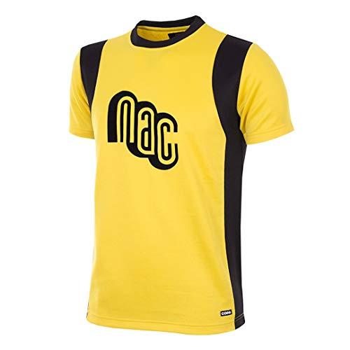 copa heren Nac Breda 1981-82 Retro voetbal ronde hals T-Shirt