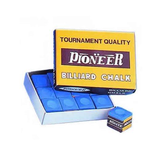Suprême Caja de 12 tizas estándar, Color Azul