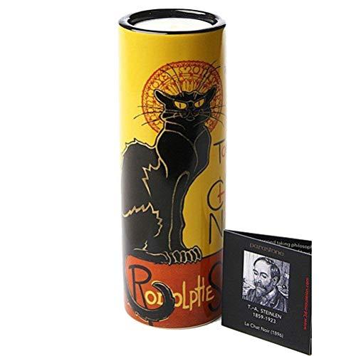 Porte-Bougie Cylindrique Le chat Noir