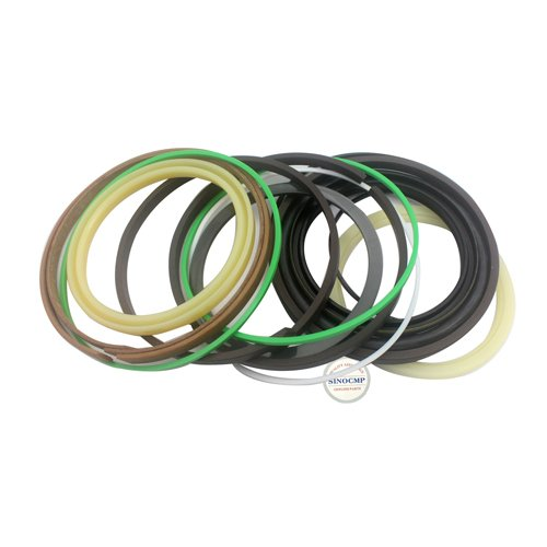 E312D Eimer Hydraulikzylinder Reparatur Dichtungssatz - SINOCMP Bagger Dichtung Kits für E312D Eimer Dichtung Kit Teile, 3 Monate Garantie