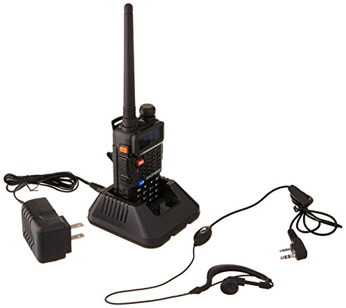 BaoFeng BF-F8+ Dual-Band 136-174/400-520 MHz Two-Way Radio Transceiver- Black