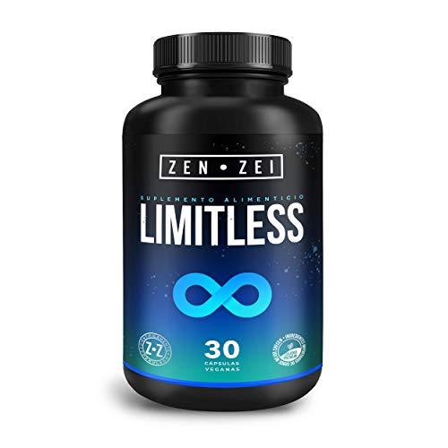 ZZ | LIMITLESS BRAIN | Complejo Herbal 100% Natural — Neuroprotector Científicamente Formulado: Concentración, Claridad, Memoria | Máximo Rendimiento Cerebral — Patentado | Calidad Premium