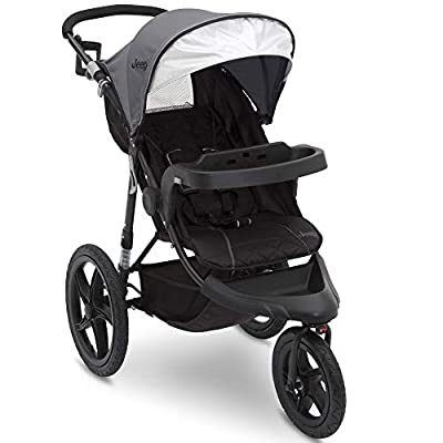 Jeep Classic Jogging Stroller, Grey from Delta Enterprise Corp - PLA