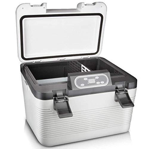 Refrigerador de coche de 19L, compresor, congelador, refrigerador eléctrico para acampar, 24 V / 12 V / 220-240 V, mini refrigerador para deportes al aire libre, recorridos en casa, viajes, campamento