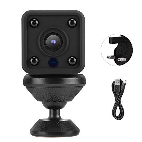 wosume 【𝐕𝐞𝐧𝐭𝐚 𝐑𝐞𝐠𝐚𝐥𝐨 𝐏𝐫𝐢𝐦𝐚𝒗𝐞𝐫𝐚】 Cámara, Mini cámara de Red IP de grabación Doble, Apartamentos de Seguridad para el hogar para Exteriores Blanco(British regulatory)