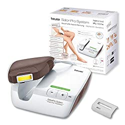 Beurer IPL 10000 plus, permanent hair removal, clinically tested, extra large light area, 250.000 light pulses