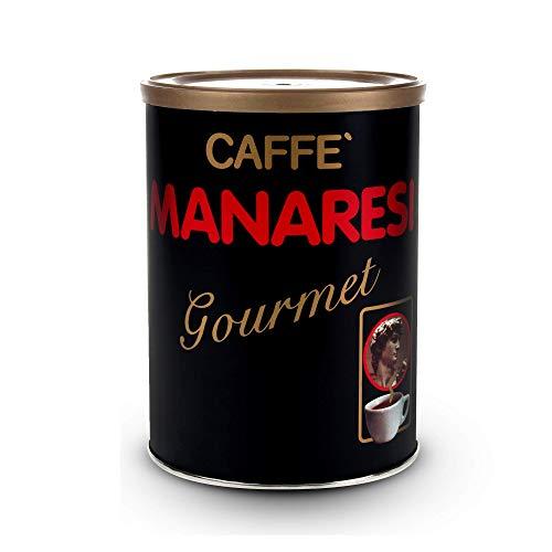 Manaresi Kaffee Gourmet 250g Bohnen Dose