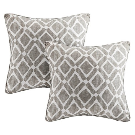 Natalie Printed Square Throw Pillow 2pk : Target