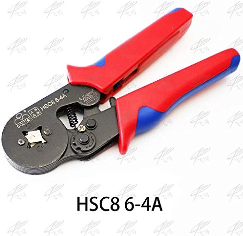HSC8 6-4A Mini-Type SELF-Adjustable Crimping PLIER 0.25-6mm2 terminals Crimping Tools Multi Tool Hands Pliers hsc8 6-4 HSC8 6-6   HSC8 4A