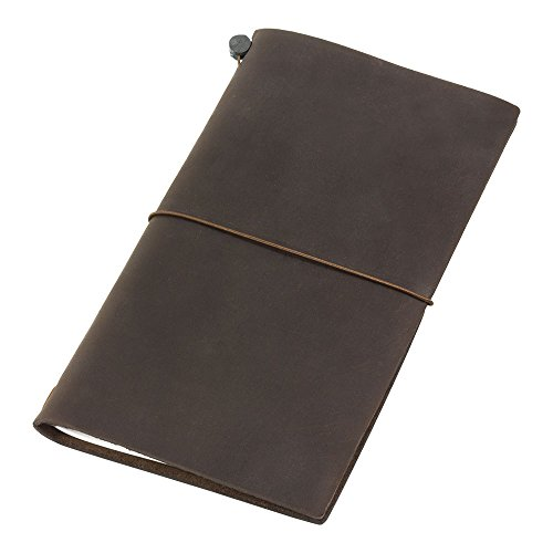 Traveler's Notebook Brown Leather (1, 1 LB) by Office 4 All