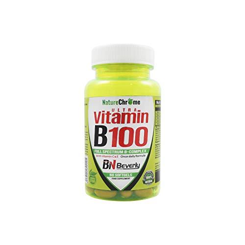 Vitamina B12. Vitamina B Complex. Vitamina B con vitaminas Grupo B: B1, B2, B3, B5, B6, B12. Con Biotina, Ácido Fólico, Vitamina C y Vitamina E. Complejo Multivitamínico completo. Contiene 60 perlas.