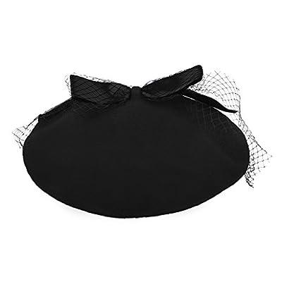 YJZQ Damen Vintage Baskenmütze