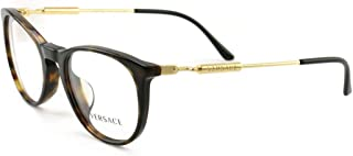 Versace VE3227A - 108 Eyeglass Frame DARK HAVANA w/Clear Demo Lens 51mm