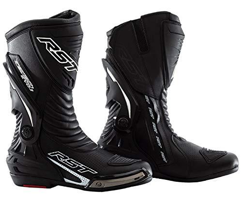 RST Botas deportivas para motocicleta Track Tech Evo 2101 Adulto Racing CE Aprobado Armadura Moto Race Botas Negro - 8/42