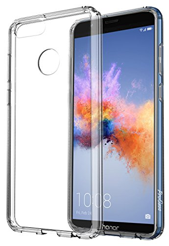 ProHülle Huawei Honor 7X Hülle/Huawei Mate SE Hülle, Dünn Hybrid Kristall Clear Cover Schutzhülle für 5,93 Zoll Huawei Honor 7X (2017) / Mate SE (2018) -Clear