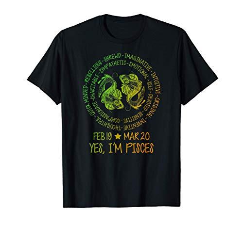Personalidad del signo del zodiaco Piscis - Peces gemelos Camiseta