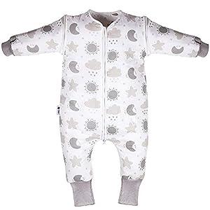 Lictin Saco de Dormir para Bebés- Saco de Dormir Bebe Niños con Mangas Extraíbles, Saco de Dormir Bebé Invierno de…