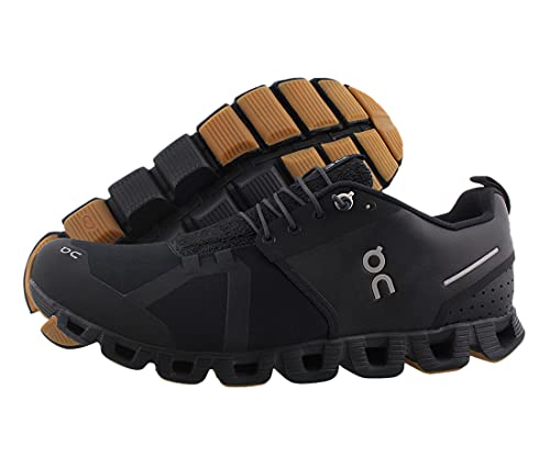 ON Running Mens Cloud Terry Textile Black Trainers 10.5 US