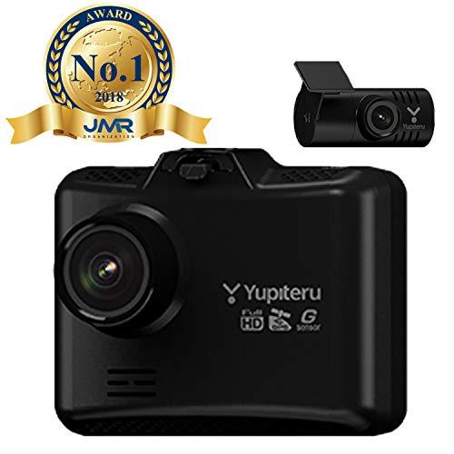 【Amazon.co.jp限定】ユピテル 前後2カメラ ドライブレコーダー WDT500 高画質200万画素(リア100万画素)1年保証 GPS Gセンサー LED信号対応 駐車監視オプション 16GB Micro SDカード付属