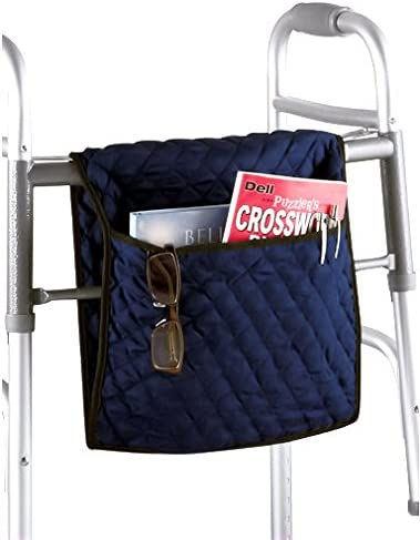 28'' Quilted Walker/Wheelchair Bag - Navy Blue