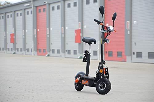 Patinete eléctrico con permiso de circulación, scooter eléctrico hasta 35 km/h, alcance...