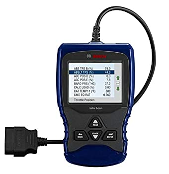 BOSCH Automotive Tools OBD 1150 Trilingual Scan Tool with AutoID Live Data ABS and Graphing