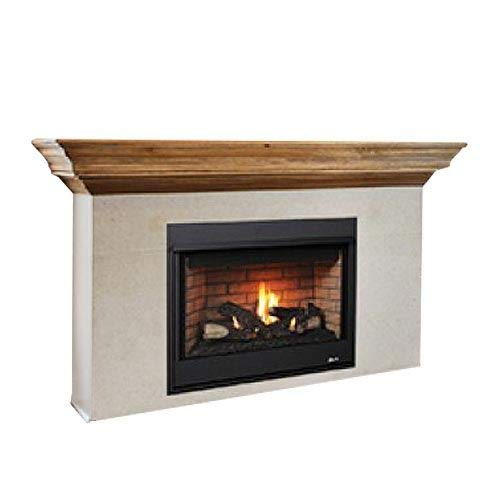 Review Superior Fireplaces 35 RNC Millivolt Top Vent Fireplace w/Aged Oak Logs- LP