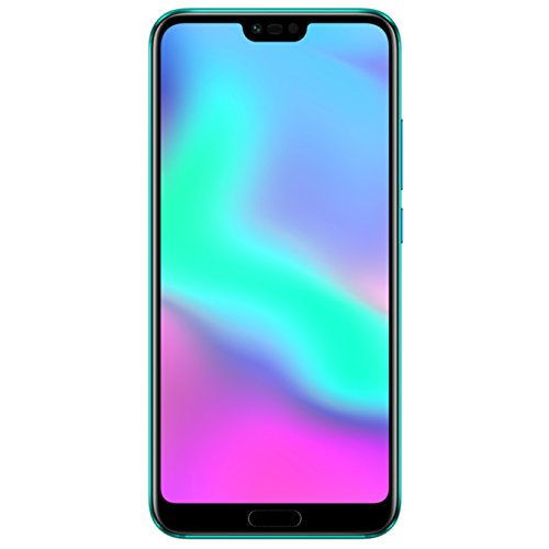 Honor 10 Dual SIM - 128 GB storage - UK Official Device - Phantom Green -  24 MP Dual Camera and 5.84 Inch Full View Display