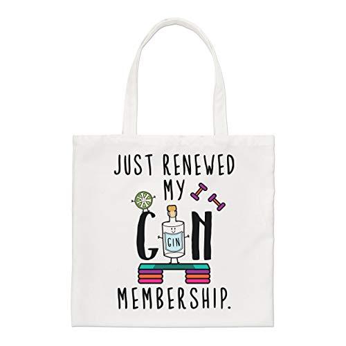 Gift Base Just Erfrischende My Gin Mitgliedschaft Regulär Einkaufstasche