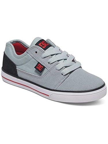 Dc Shoes Tonik - Zapatos para Chicos, Color: GREY/BLACK/RED, Talla: 36.5 EU (5.5 US / 4.5 UK) (Niños/Kids)