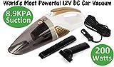RNG EKO GREEN 8.9KPA/200 Watt Dynamic Power Wet/Dry Car Vacuum Cleaner with Stainless
