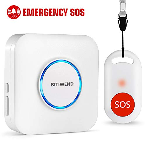 Wireless Caregiver Pager,Nurse Call Alert,Panic Button