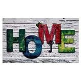 Valia Home Felpudo – 3 diseños – Felpudo atrapasuciedad para...