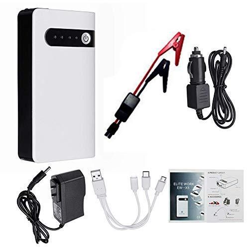Auto Starthilfe Startbatterie Batterie Power Bank Tragbare 12V 2000A Fahrzeug Notbatterie Booster für 4.0L Gas Car Power Starter