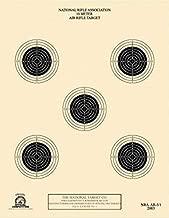 Official NRA Air Rifle Target, AR-5/5, 10 Meter