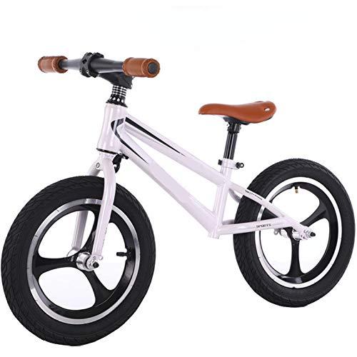 TOOSD Bicicleta De Equilibrio De 12-16 Pulgadas para Niños De 2 A 7 Años, Bicicleta Deportiva De Entrenamiento De Equilibrio Sin Pedal para Caminar para Niños Pequeños,A,12