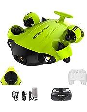 Onderwaterdrone FIFISH V6 100m Kabel 64GB Afstandsbediening 2 Laders Spiraalbril VR QYSEA 843823