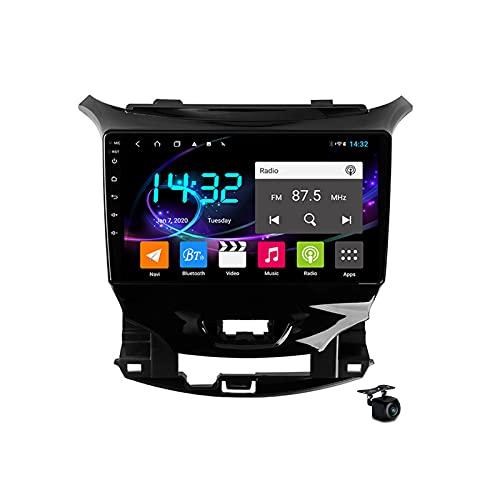 Coche estéreo Android 10.0 Radio SAT NAV para Chevrolet Cruze 2015-2020 GPS Navigation 9 '' Pantalla táctil IPS 2 DIN Multimedia Video Player FM Receptor con 4G 5G WIFI SWC Carplay,M200s