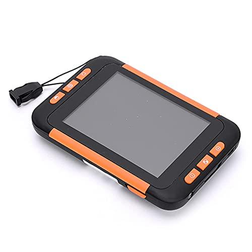 Lupa electrónica de Mano, Lupa Digital portátil de Ayuda de Lectura electrónica de 3,5 ', con Aumento de 2-32X Ajuste de Baja visión para Personas Mayores con...